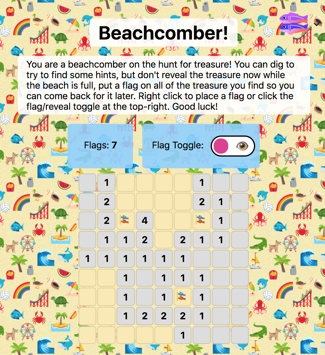 A screenshot of the game
